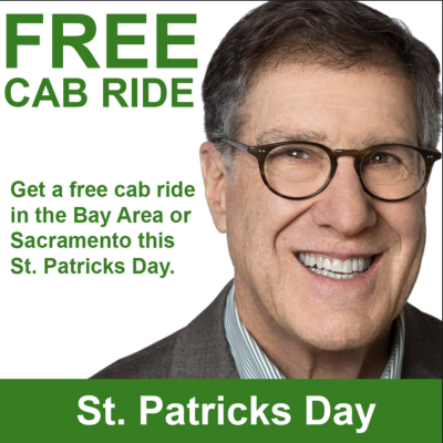Free St  Patricks Day Cab Ride from GJEL Accident Attorneys