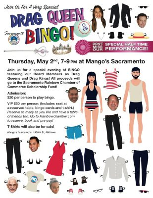 Drag Queen Bingo Benefiting Rainbow Chamber Founda...