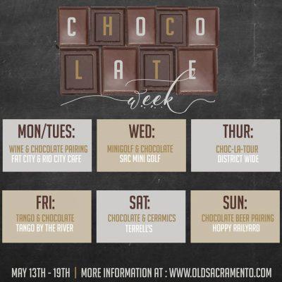 Old Sacramento Waterfront Chocolate Week