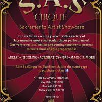 SacCirque: Sacramento Artist Showcase