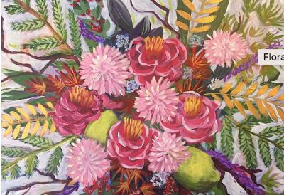 Floral Bouquet Acrylic Workshop