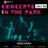 Concerts in the Park: Vista Kicks