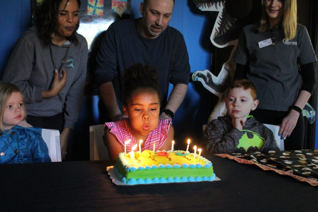 Powerhouse Science Center Birthday Party Open House
