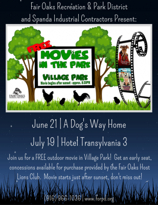 Movies in the Park: A Dog's Way Home