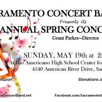 Sacramento Concert Band Spring Concert