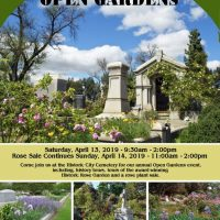Open Gardens and Rose Sale