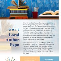 2019 Local Author Event