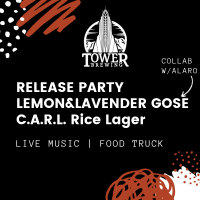Release Party: Lemon and Lavender Gose and CARL