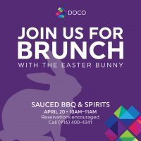 Easter Bunny Brunch (Sauced)