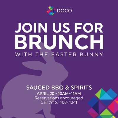 Easter Bunny Brunch (Sauced)