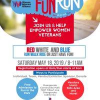 Women Veterans Red, White, and Blue Fun Run