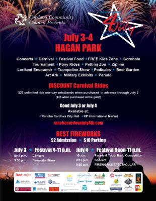 Rancho Cordova 4th of July Celebration