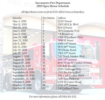 Sacramento Fire Department Open House (Station 7)