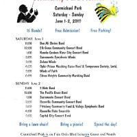 The Carmichael Park Band Festival