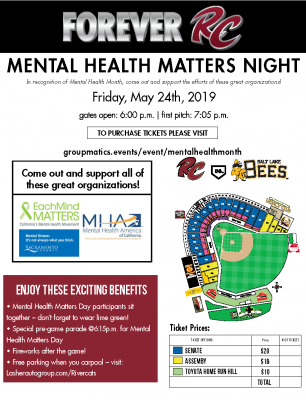 Mental Health Matters Night