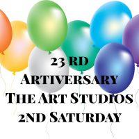 The Art Studios Artiversary Art and Cake Celebration