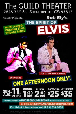 Spirit of Elvis Show