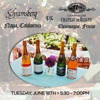 Tasting Event: French Champagne vs. Napa Sparkling