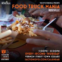 Roseville Food Truck Mania