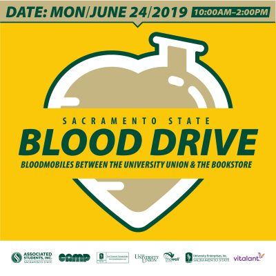Sac State Summer Blood Drive