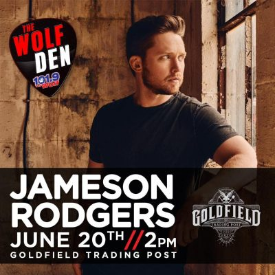 The Wolf Den: Jameson Rodgers