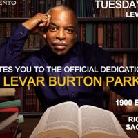 LeVar Burton Park Renaming and Dedication Event