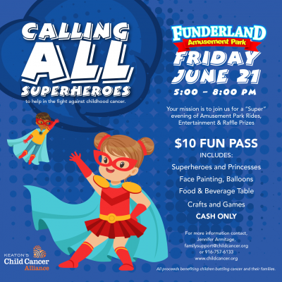 Keaton's Child Cancer Alliance's Fun at Funder...