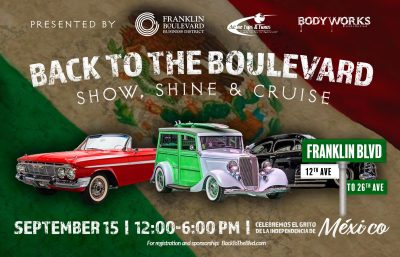 Back to the Boulevard: Show, Shine, and Cruise