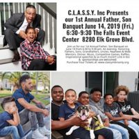 CLASSY's 1st Annual Father-Son Banquet