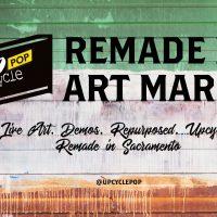 UpcyclePop: Remade Eco Art Market