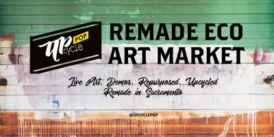 UpcyclePop: Remade Eco Art Market
