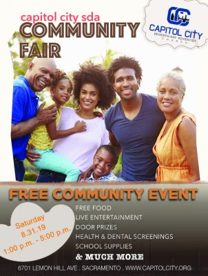 Capitol City SDA Community Fair