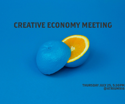 July Creative Economy Meeting