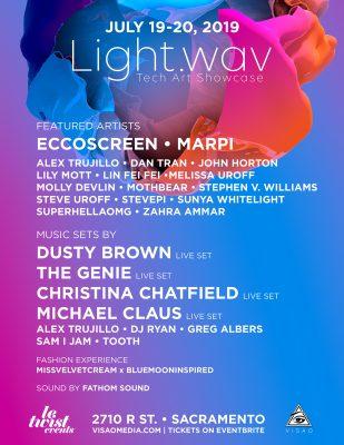 Light.wav 2019: Tech Art Showcase