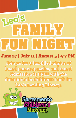 Leo's Family Fun Night