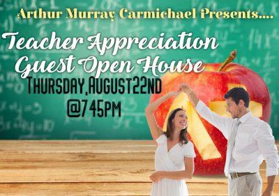 Teacher Appreciation Open House