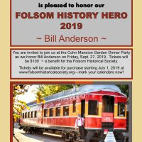 2019 Folsom History Hero Dinner Party