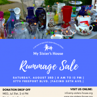 My Sister's House Rummage Sale