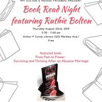 Book Read Night featuring Ruthie Bolton