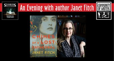 Stories on Stage Sacramento: Janet Fitch