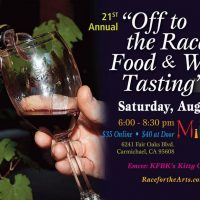 Off to the Races Food and Wine Tasting