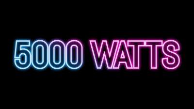 5000 Watts