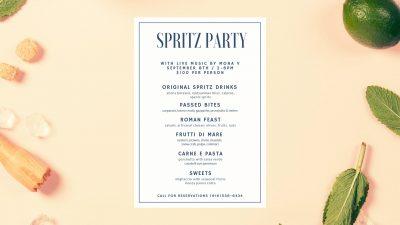 Summer Spritz Party