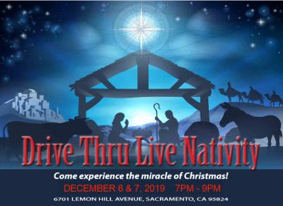 Drive-Thru Live Nativity