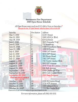 Sacramento Fire Department Open House (Station 20)...