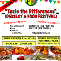 Taste the Differences Dessert and Food Festival
