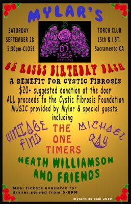 Mylar's 65 Roses Birthday Bash Benefit