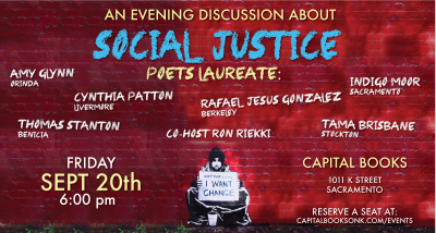 Social Justice Discussion with Six Poets Laureates...