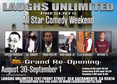 All-Star Grand Re-Opening Comedy Series