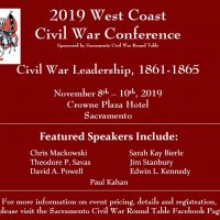 West Coast Civil War Conference